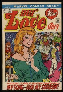 Our Love Story #16 FN/VF 7.0