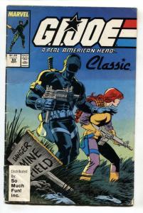 G.I. JOE #63 SO MUCH FUN Variant Marvel Comics -HTF-Snake Eyes
