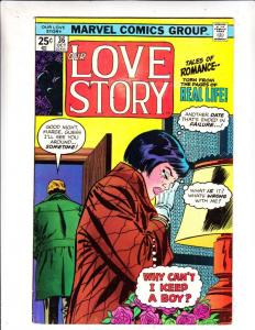Our Love Story #36 (Oct-75) VF/NM- High-Grade