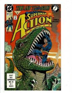 10 Action Comics Feat Superman DC # 664 665 667 668 669 670 683 684 685 686 J509