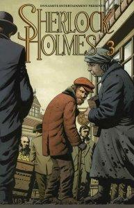 Sherlock Holmes (Dynamite) #3 VF/NM; Dynamite   save on shipping - details insid