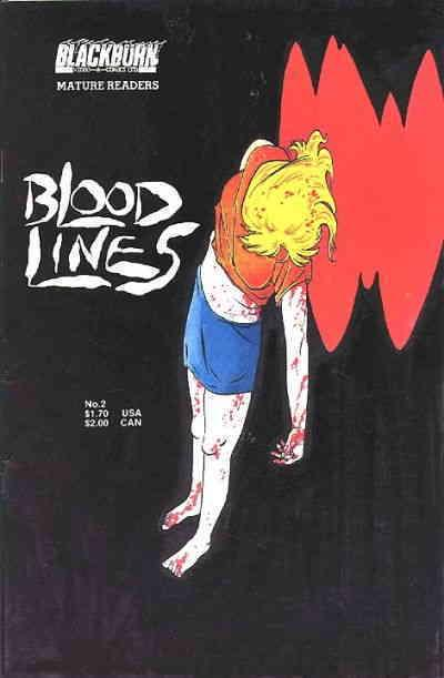 Bloodlines #2 VF/NM Aircel - save on shipping - details inside