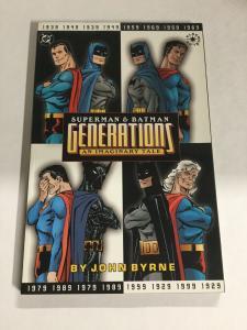 Superman And Batman Generations Nm Near Mint DC Comics SC TPB
