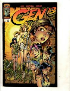 10 Comics Gen 13 3 57 Mayhem 3 Youngblood 3 Team Youngblood 18 Ghost 2 + J331