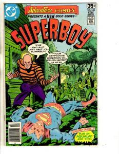 Lot Of 8 DC Comics Adventure Comics 455 457 Superboy 2 3 4 1 2 + Annual # 1 CR17