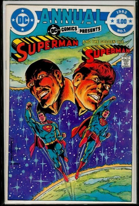 DC COMICS PRESENTS #1, VF/NM, Annual, Superman, Buckler, DC, 1982 more in store