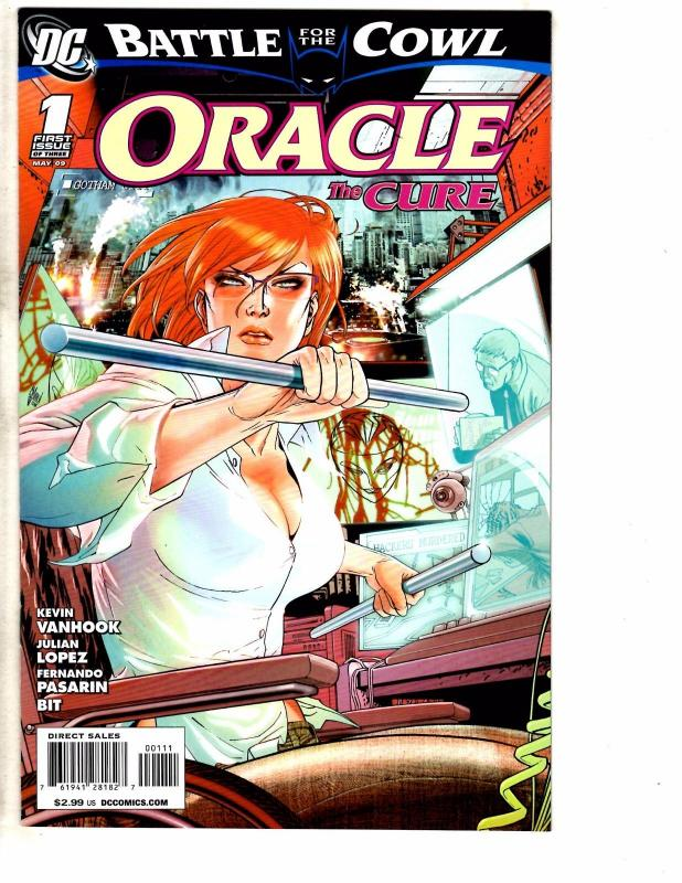 5 DC Batman Comics Oracle #1 2 Battle For Cowl Gazette Network Arkham Asylum J47