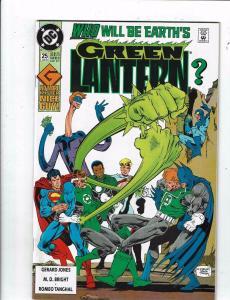 6 Green Lantern DC Comic Books # 25 30 31 45 52 53 Batman Flash Arrow J218