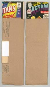 TEEN TITANS, MORE in ORIGINAL SUB ENVELOPES .1960s. RARE VF