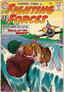 Our Fighting Forces #66 (Feb-62) FN/VF+ High-Grade Gunner and Sarge, Pooch
