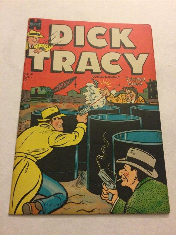 Dick Tracy Comics Monthly 78 Nm- Near Mint- Harvey Comics