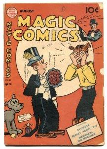 Magic Comics #121 1949- Blondie- Mandrake VG-