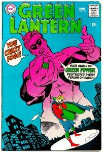 GREEN LANTERN #61 (June1968) 7.0 FN/VF ★ Gil Kane! Golden Age GL Alan Scott!