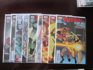 Deadpool Team Up #890 to #896 & #898 & #899 run - 2nd series - VF VF+ - 2010