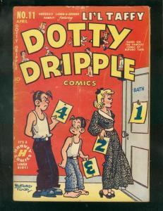 DOTTY DRIPPLE COMICS #11 1950-BUFORD TUNE NEWSPAPER ART FR