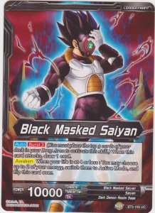 Dragon Ball Super CCG - Miraculous Revival - Black Masked Saiyan/Powerthirst Bla