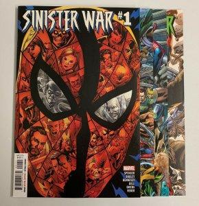 Sinister War #1-4 Set (Marvel 2021) 1 2 3 4  Nick Spencer (9.2+)