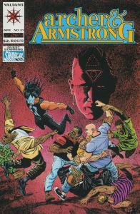 ARCHER & ARMSTRONG (1992 VALIANT)  12-21 THE SET!