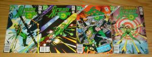 Green Arrow #1-4 VF complete series - first set - dc comics 2 3 mike w. barr lot