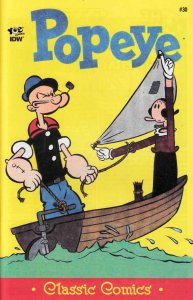 POPEYE #30 NEAR MINT.