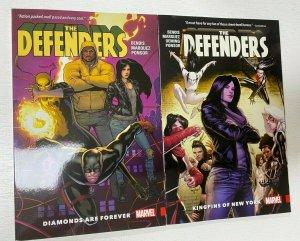Defenders set #1-2 Marvel 2 different books 8.0 VF (2017 to 2018) Bendis