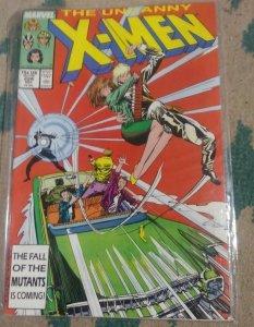 UNCANNY X-MEN #224 1987 MARVEL HAVOC LONGSHOT ROGUE PSYLOCKE MUTANTS STORM