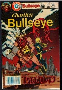 Bullseye #9 (Charlton, 1982) - Low Print Run