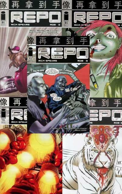 REPO (2007 IM) 1-5  Rick Spears & Rob G  COMPLETE!