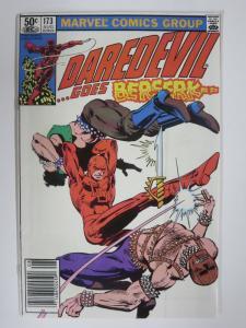 DAREDEVIL 173 VG-F Aug 1981 Miller classic Daredevil sa