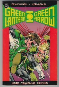 Green Lantern Green Arrow Hard Traveling Heroes TPB (1992) 1st Print