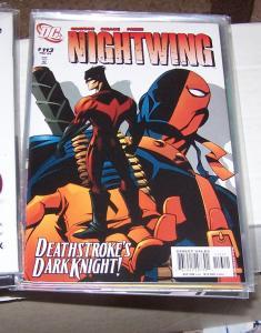 NIGHTWING  # 113  2006 DC COMICS deathstroke the terminator +dick grayson
