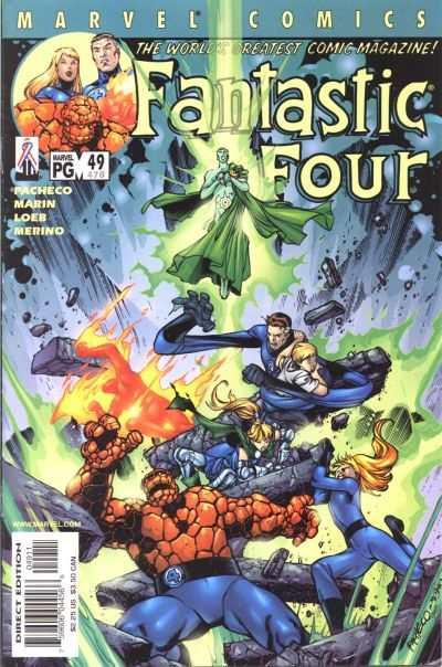 Fantastic Four (1998 series) #49, NM + (Stock photo)