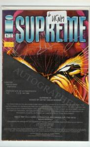 SUPREME (1992 IMAGE) 6 (W/CERT) VF-NM LIMITED TO 1000;S COMICS BOOK