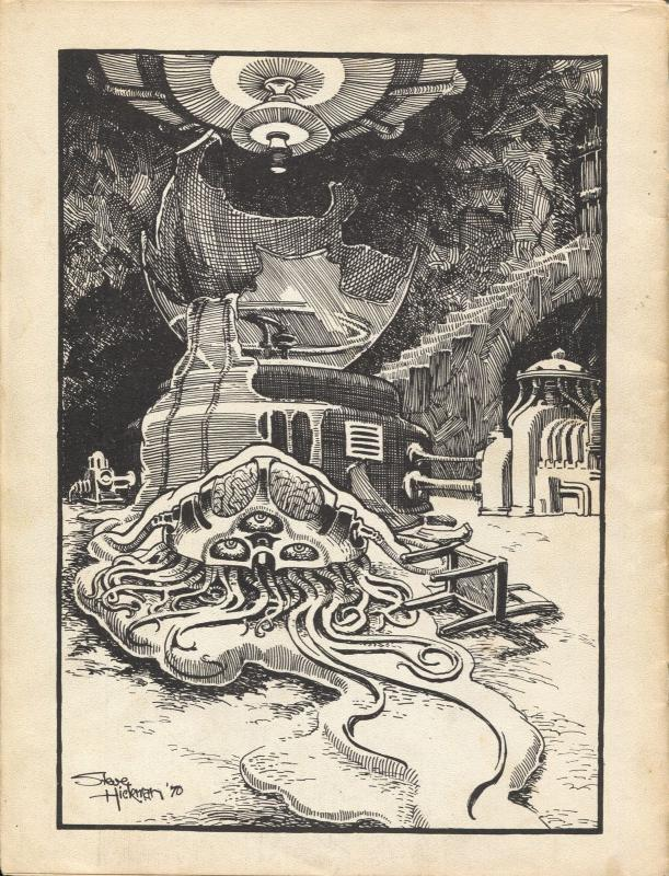 Scream Door #1 1971-1st issue-Berni Writhson-Mike Kaluta-Bob Juanille-FN-