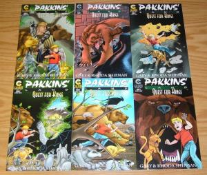 Pakkins' Land: Quest For Kings #1-6 VF/NM complete series - all ages fantasy set