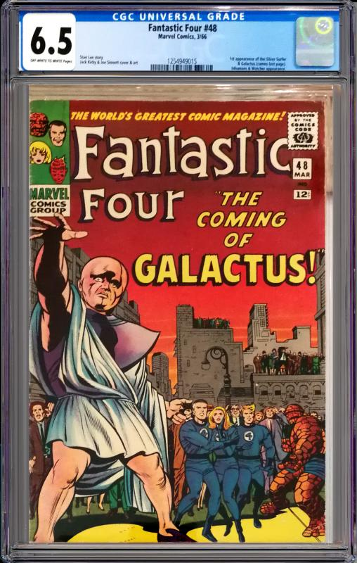 Fantastic Four #48 CGC Graded 6.5 1st App of Silver Surfer & Galactus