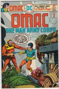 OMAC #8 (Dec-75) NM- High-Grade OMAC