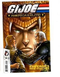 Lot Of 6 GI Joe America's Elite DDP Comic Books # 19 21 22 23 24 26 Snake Ey TP6