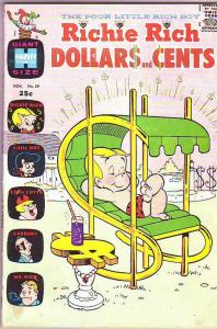 Richie Rich Dollars and Cents #39 (Nov-70) VG/FN Mid-Grade Richie Rich