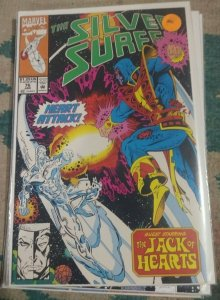 Silver Surfer #76 1993  Marvel jack of hearts space
