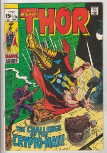 Thor, the Mighty #174 (Mar-70) VF/NM High-Grade Thor