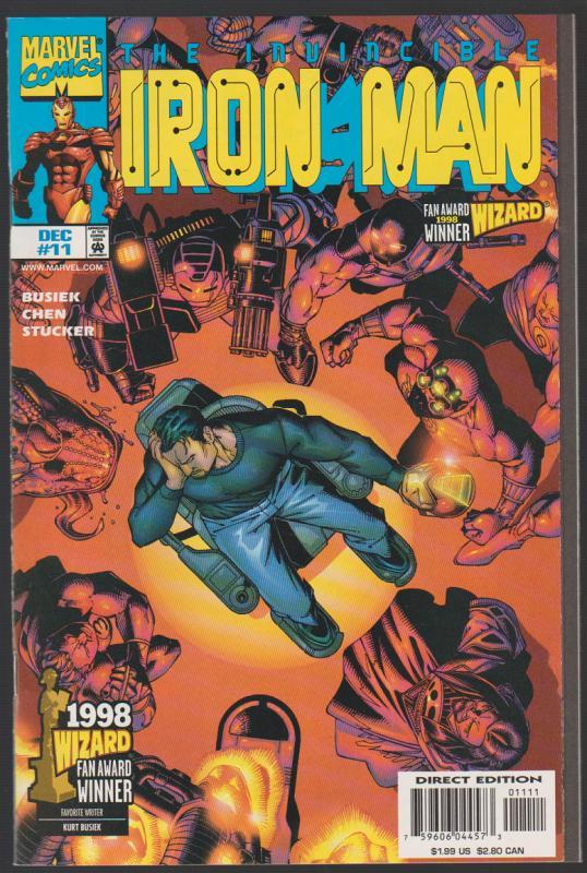 IRON MAN #11  -  MARVEL COMICS 1998