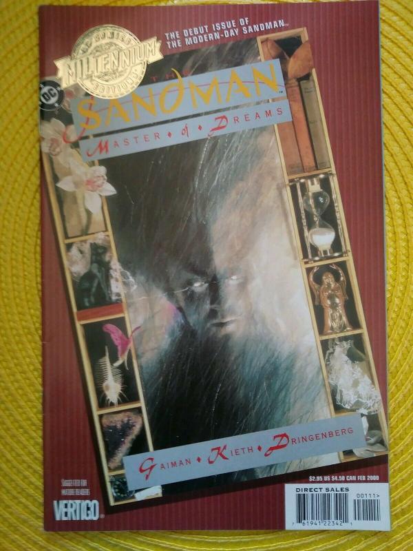 THE SANDMAN #1 - MILLENNIUM EDITION DC COMICS (2000) NEIL GAIMAN - SAM KEITH
