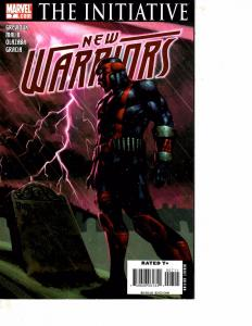 Lot Of 2 Marvel Comic Books New Warriors #7 and Nightstalkers #1 Iron Man MS20