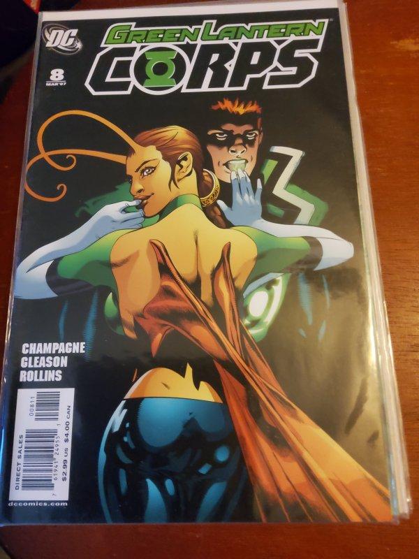 Green Lantern Corps #8 (2007)