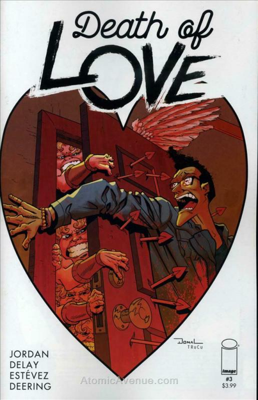 Death of Love #3 VF; Image | save on shipping - details inside