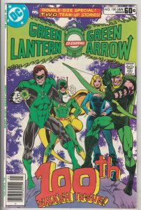 Green Lantern #100 (Jan-78) NM- High-Grade Green Lantern, Green Arrow, Black ...