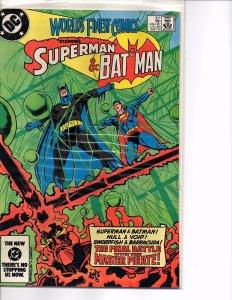 DC Comics World's Finest Comics #307 VF+ Ed Hannigan Klaus Janson Cover