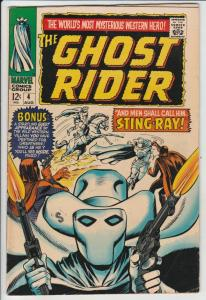 Ghost Rider, The Western #4 (Aug-67) VF/NM High-Grade Ghost Rider