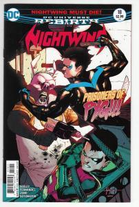 NIGHTWING (2016 DC) #18 NM-